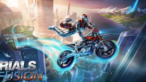 Испытания fusion, redlynx, motorcycles, 2014