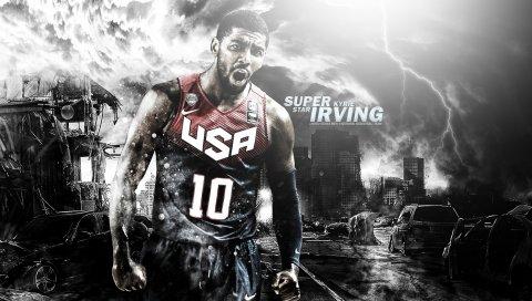 Kyrie irving, баскетбол, nba, спортсмен