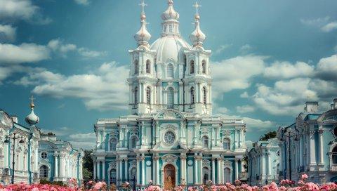 Санкт-Петербург, Смольный монастырь, архитектура