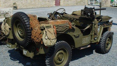 Willys mb, джип, военный автомобиль, военный