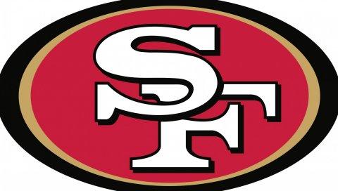Сан - Франциско 49ers, футбол, логотип