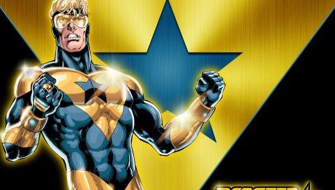 бустер золото, DC Comics, супергерой