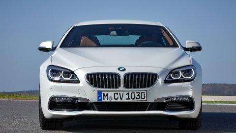 2015, bmw, 650i, вид спереди, купе с купе, f06