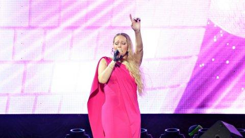 Mariah carey, певец, автор песен, платье, стиль, 2014