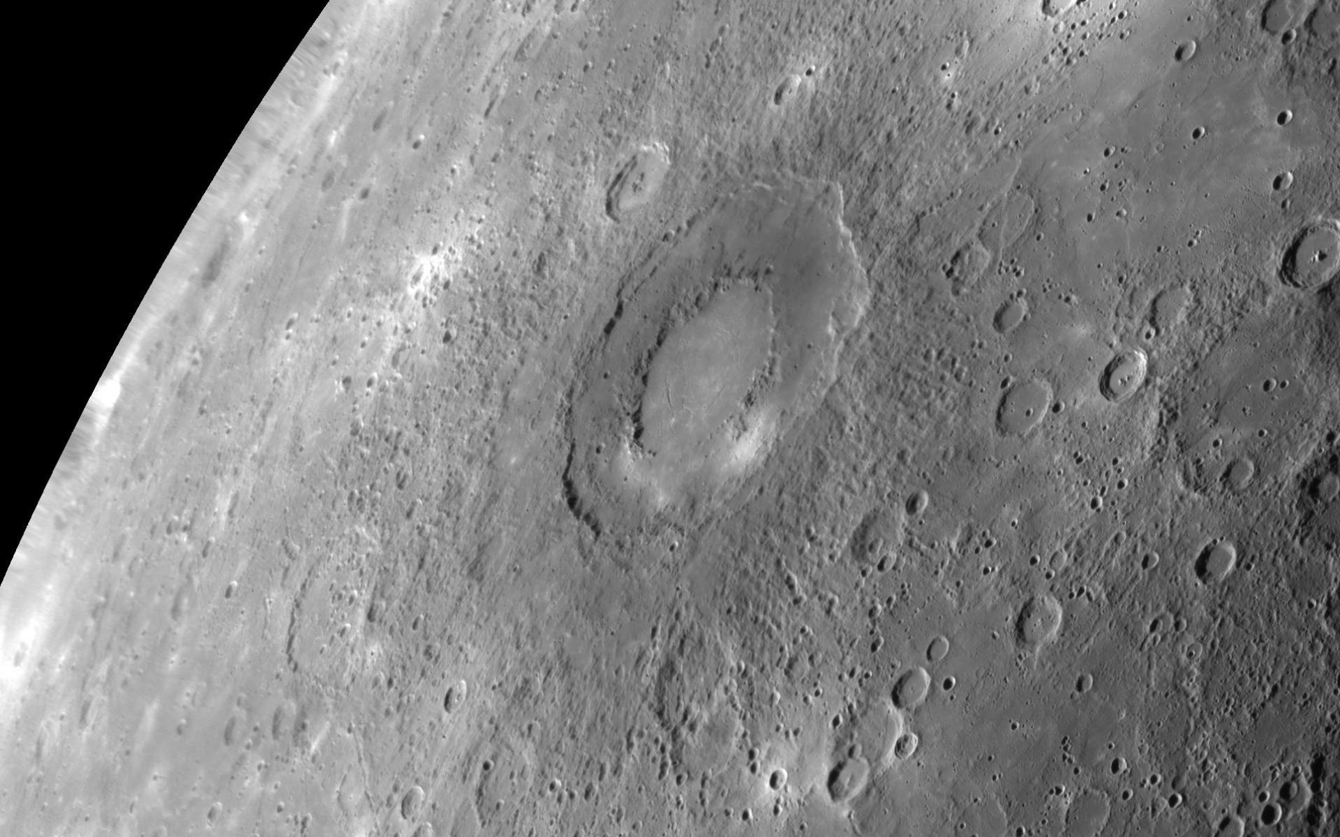 Картинки Caloris planitia, ударная структура, ртуть фото и обои на рабочий стол