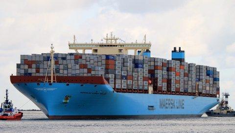 Maersk mc-kinney moller, крупнейший контейнерный корабль, daewoo кораблестроение и морская техника