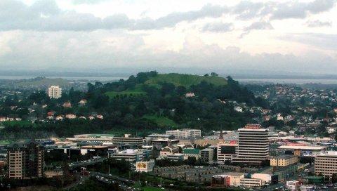 окленд, новая Зеландия, самый большой город