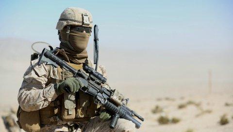 морской пехоты Соединенных штатов, военные,оружие