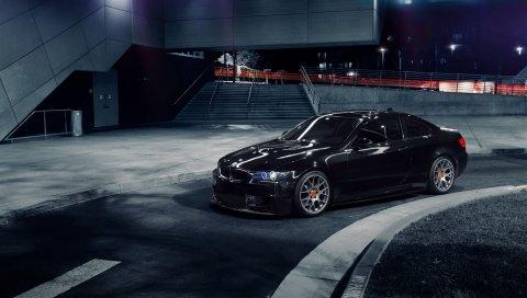 м преобразование, 1013mm, BMW 335i, авто, черный, вид сбоку, купе