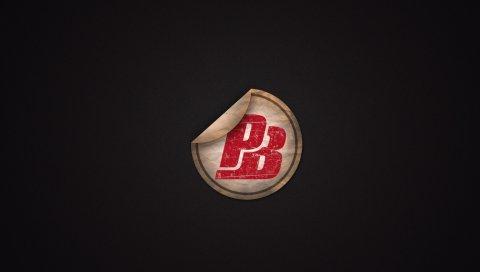 Точка, логотип, минимализм
