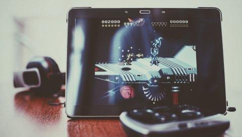 Samsung, примечание галактики, январь 10, планшет, 8 бит, battletoads