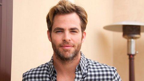 Chris pine, актер, знаменитость, рубашка