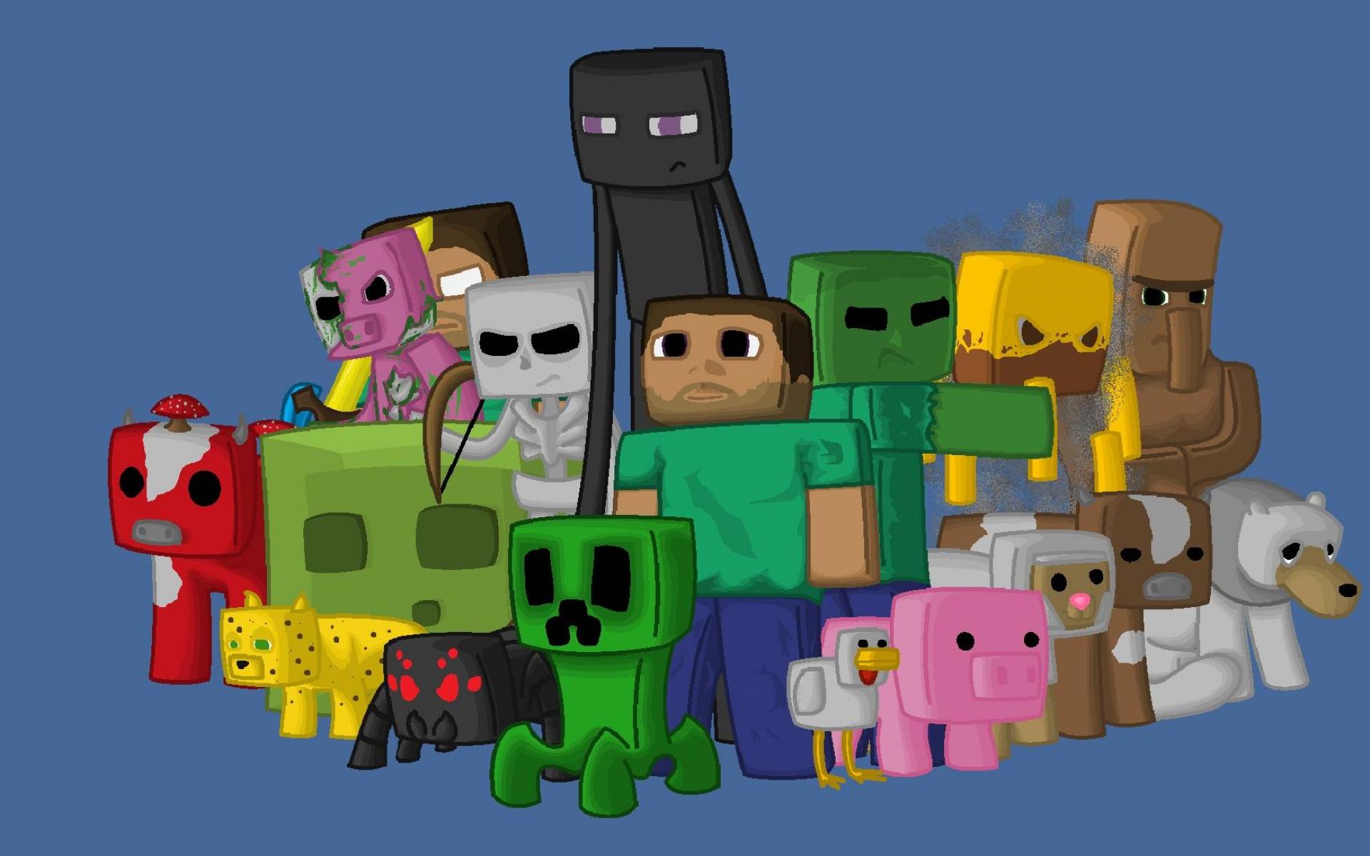 Картинки Minecraft, персонажи, игра, пиксели, java фото и обои на рабочий стол