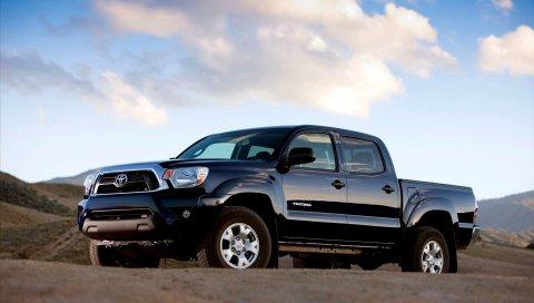 Toyota, tacoma, 2013, автомобили, вид сбоку, suv