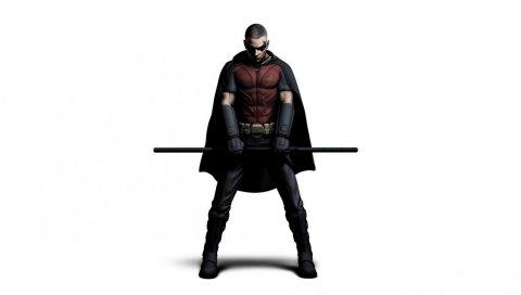 Город бэтмен аркхам, искусство, робин, персонаж
