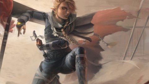 игра, легенда Zelda, искусство
