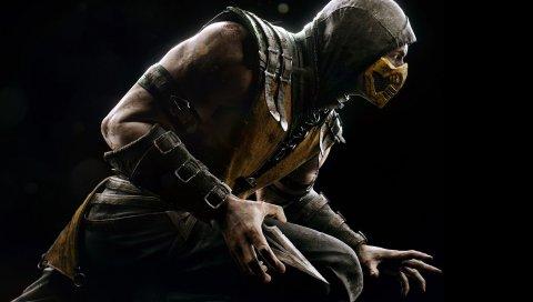 Смертный комбат, скорпион, герой, костюм