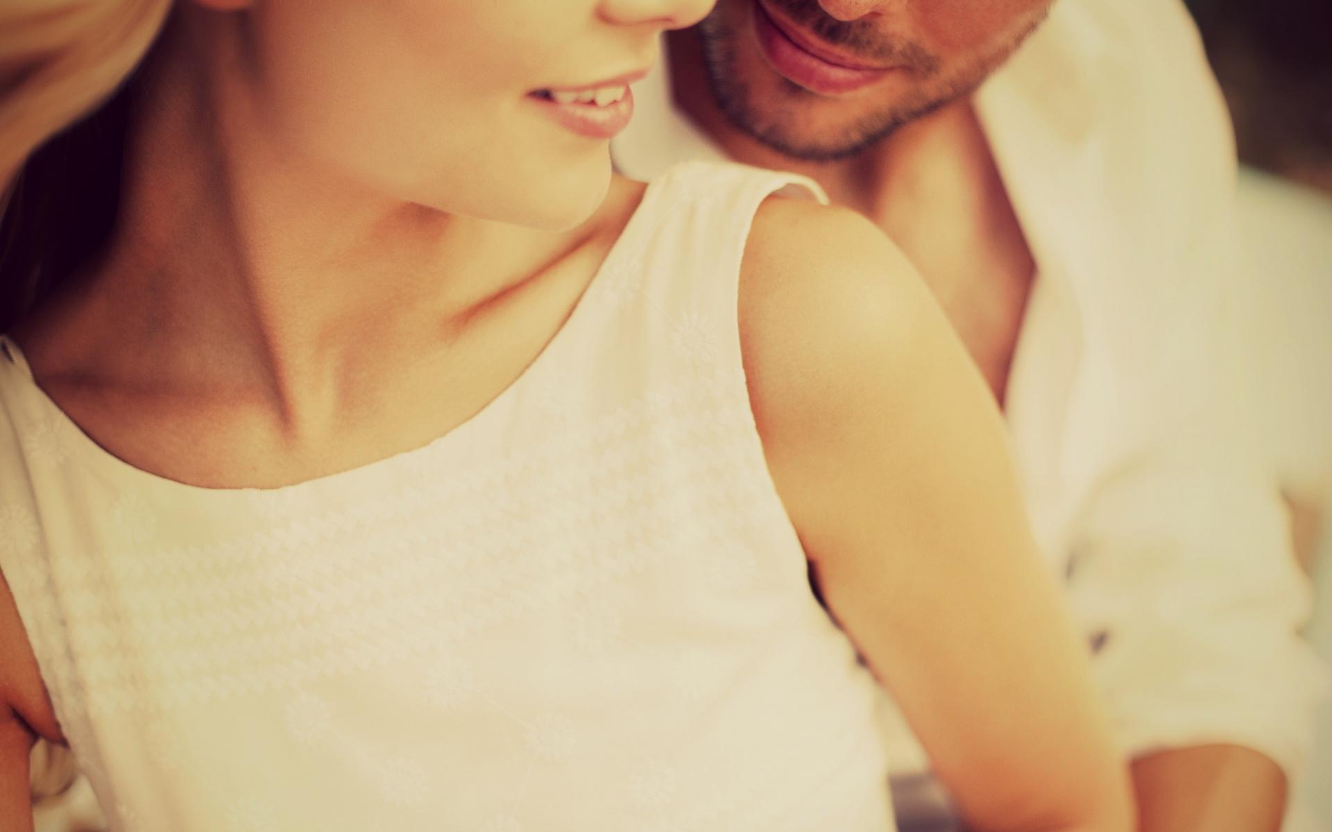 Картинки Мужчина, женщина, пара, нежность, губы фото и обои на рабочий стол