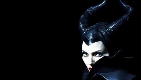 Злобный, ангелина Джоли, лицо