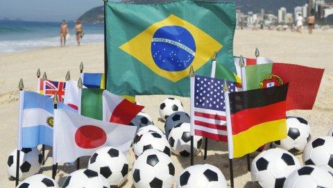 бразилия, фифа, Кубок мира, 2014, пляж, мячи, футбол, болельщики