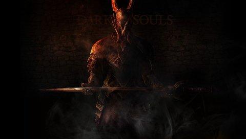 темные души, рыцарь, нежитью, оружие