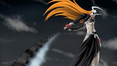отбеливатель, Ичиго, меч, полая, волна, оружие