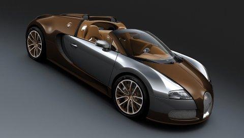 Bugatti veyron, великий спорт, bugatti