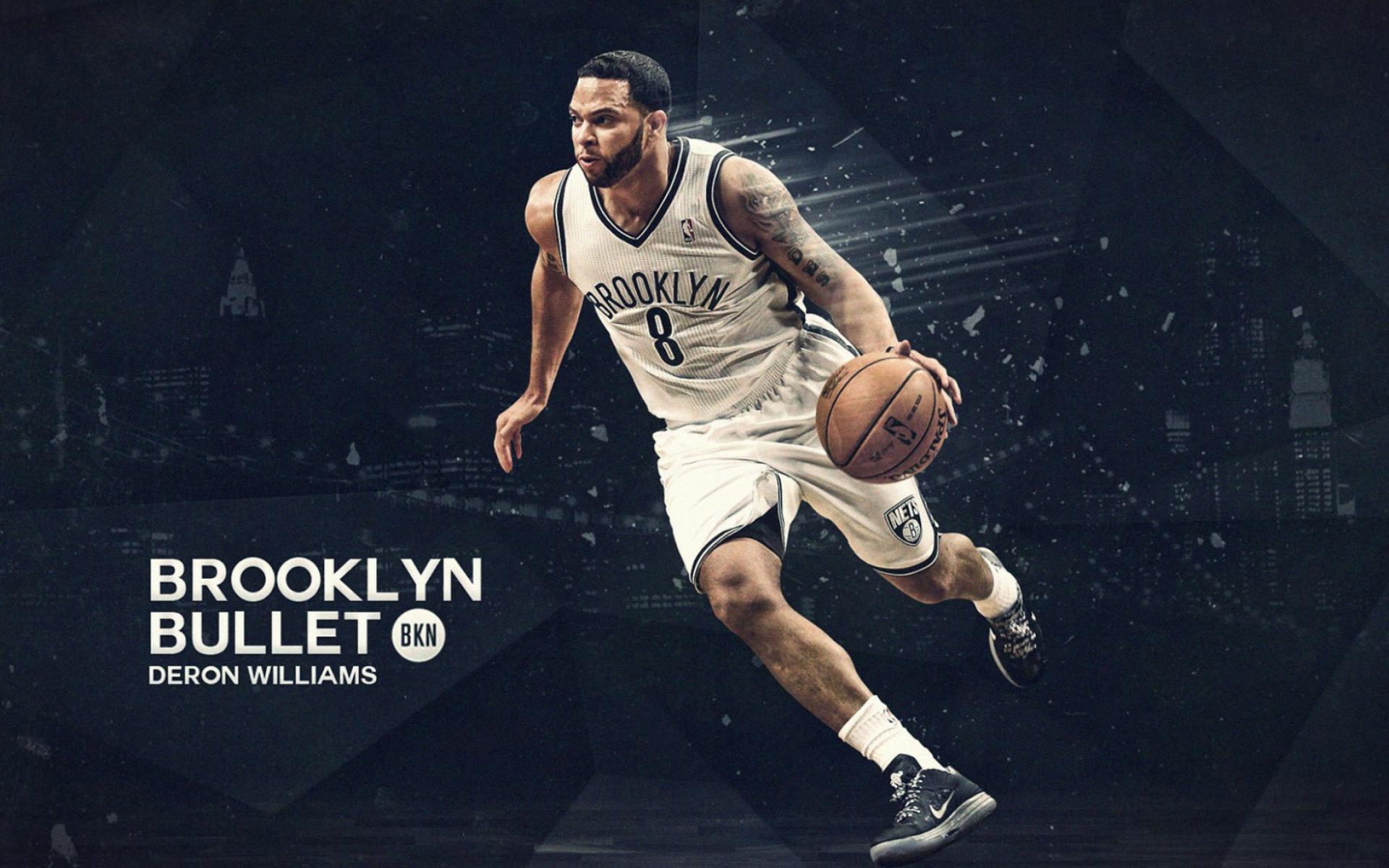 Картинки Deron williams, brooklyn, point guard, баскетбол, игрок, защитник, спорт, мяч фото и обои на рабочий стол