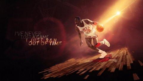 Michael jordan, chicago, быки, легенда, мяч, баскетбол, спорт, nba