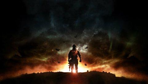 битвы 4, игра, взрыв, EA Digital Illusions CE