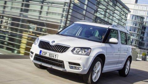 Skoda Yeti, белый, 2014, авто, новый, стильный