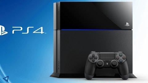 PlayStation 4, консоль, контроллер, PS4
