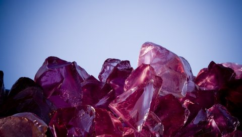 лед, свет, камни