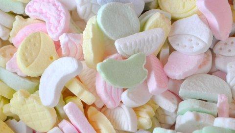 конфеты, сладкая, форма
