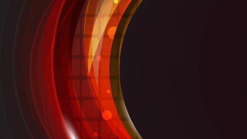 полукруг, фон, разноцветные