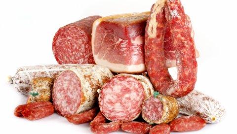 колбаса, мясо, продукты питания