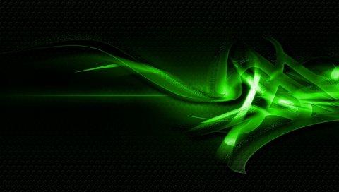 Шаблоны, зеленый, светлый, темный