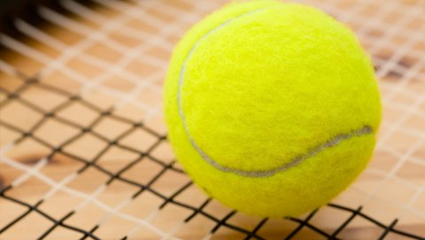 шар, теннисный корт, спортивная