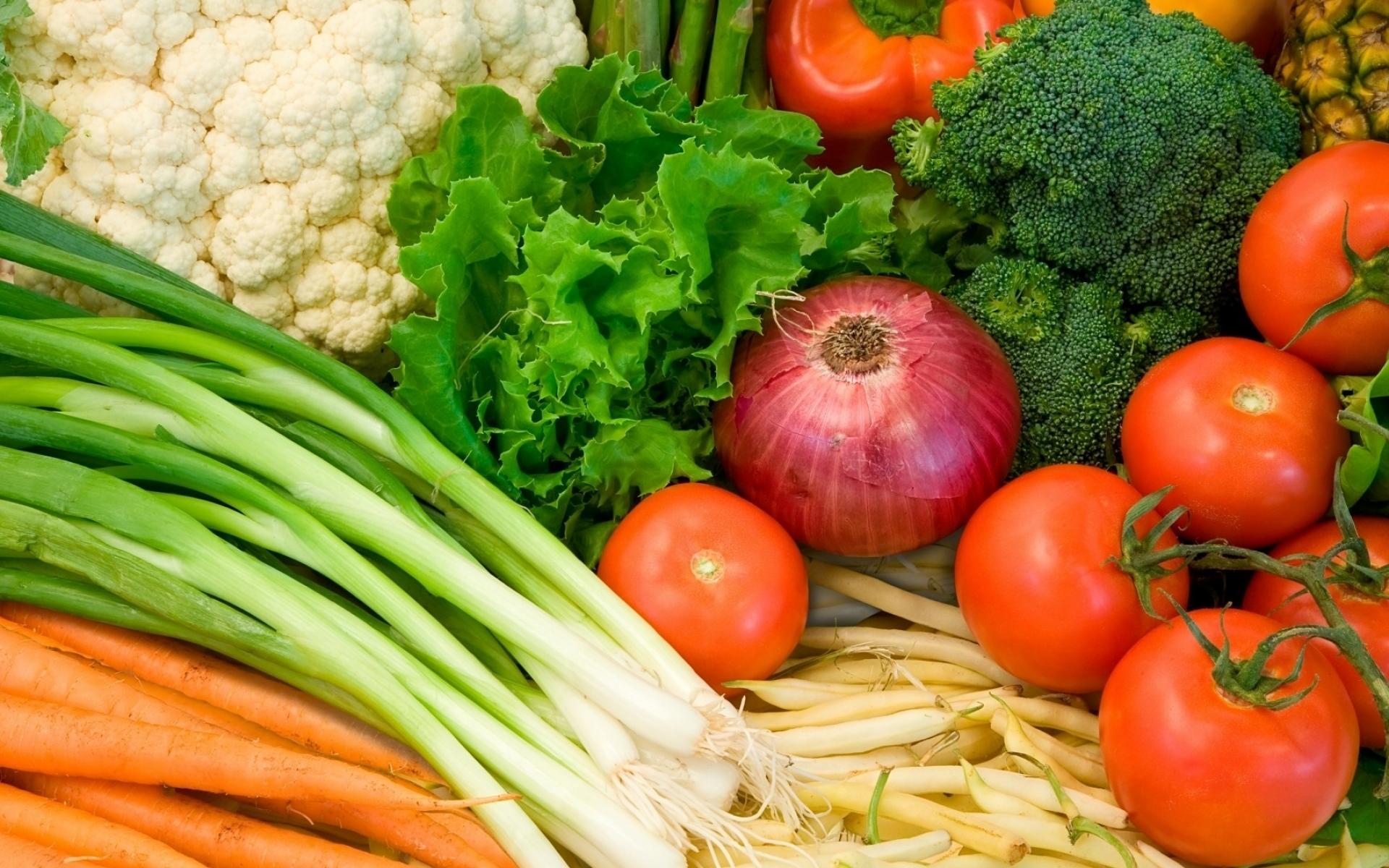 Картинки зелень, помидоры, лук, морковь , фото и обои на рабочий стол