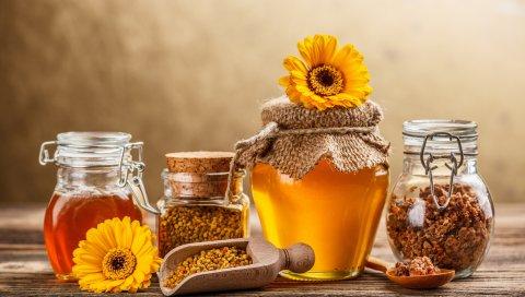 мед, цветы, сладкий