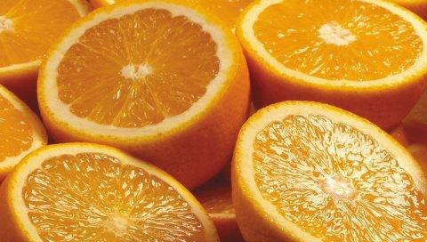 апельсины, цитрусовые, сладкий