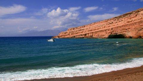 море, небо,Летом