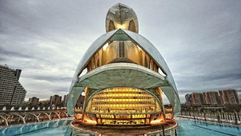 Валенсия, Испания, город, архитектура