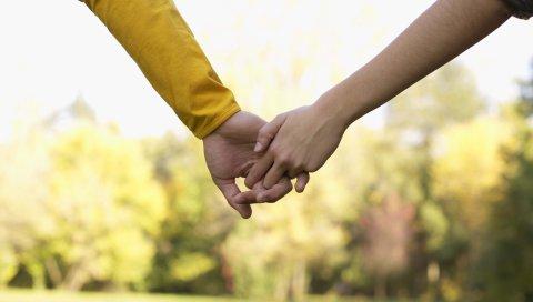 рука, пара, любовь