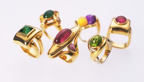 кольцо, золото,