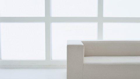 диван, свет, комната для