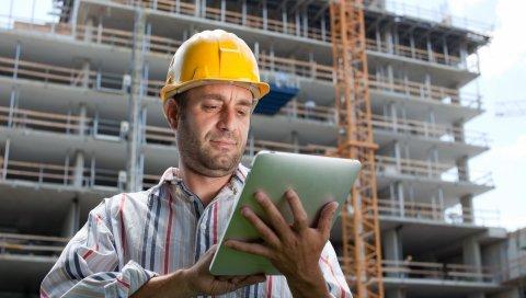 строитель, строительство, шлем, таблетки