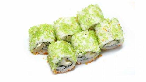 Суши, икры, японской кухни