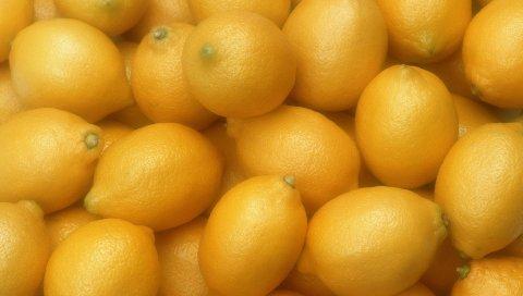 лимоны, спелые, весь