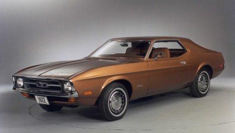 1972, форд, мустанг, стиль